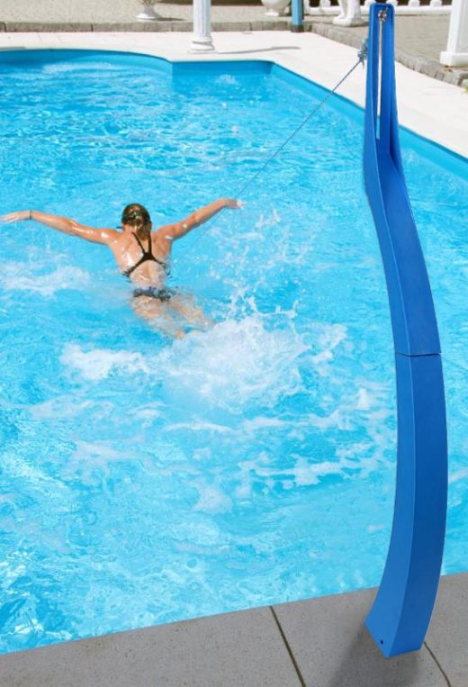 exercises in a pool with pool athlete