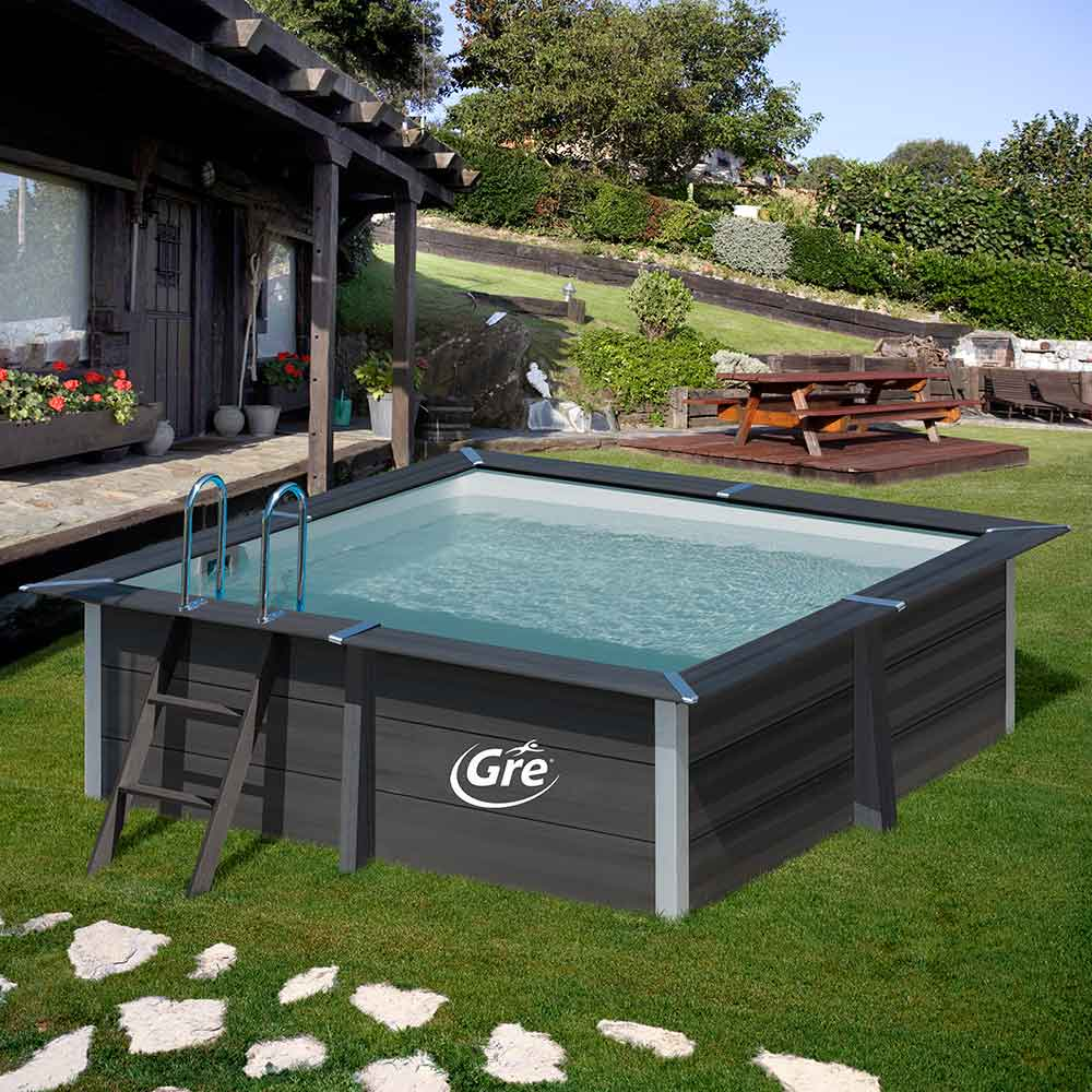 the new composite square pool from Gre