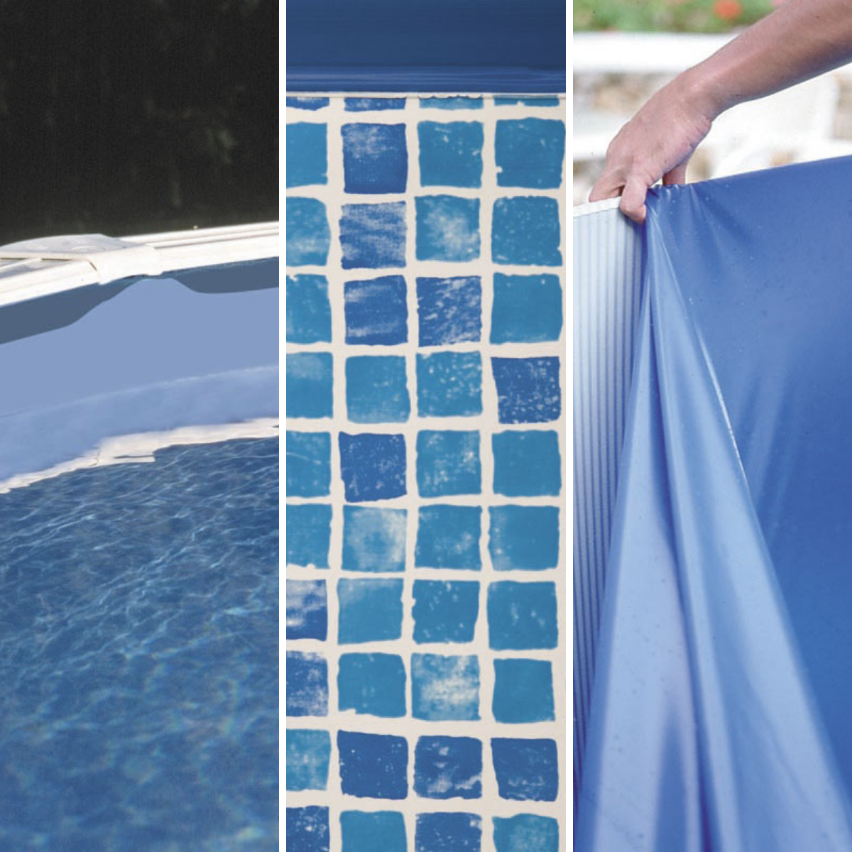 Removable Pool Liners Gre Types And Colors