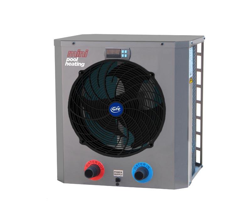 mini heat pumps for pools