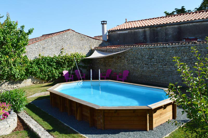 Gre Safran Wood Pool