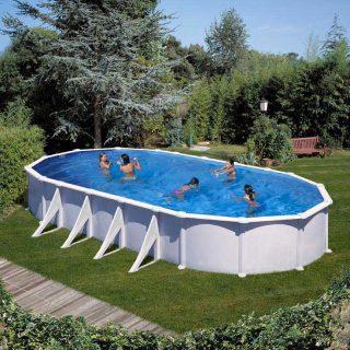 [es:]piscina de acero ovalada de Gre[en:]Oval Steel Gre Pool