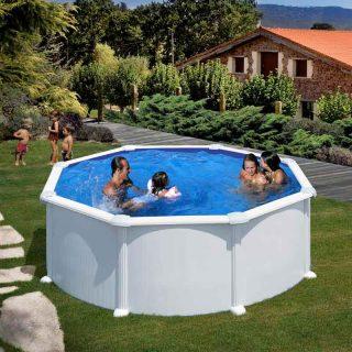 [es:]piscina de acero redonda de Gre[en:]Gre's Round Steel Pool