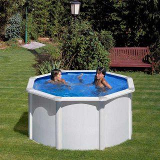 [es:]Piscina de acero Redonda[en:]Rounded Steel Pool