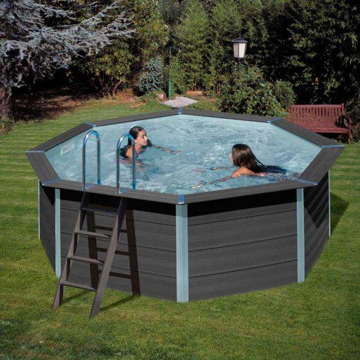 [es:]Piscina desmontable resistente de Gre[en:]Detachable Gre Resistant Composite Pool