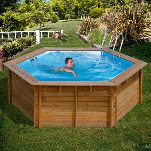 [es:]Piscina de madera redonda Gre[en:]Round Gre Wooden Pool