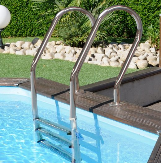 Escaleras: accesorios de piscina para niños