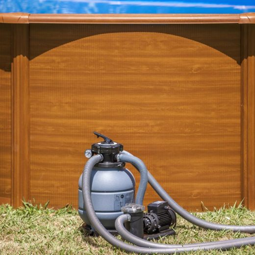 How do pool sand filters work?