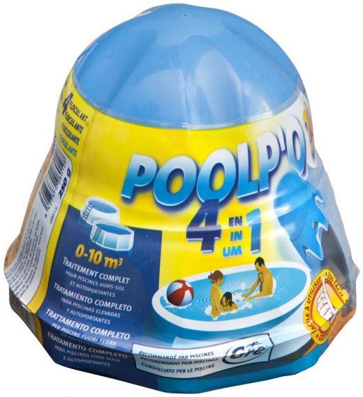 The functions of Poolp'o for pool water treatment