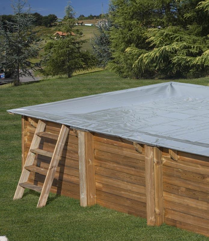 Tratamiento para piscinas en invierno: cubiertas
